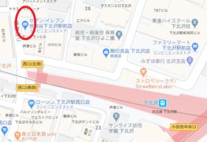 下北沢-地図