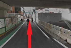 代沢-中央口から南口商店街の景色